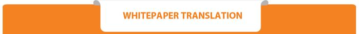 ICO Whitepaper Translation Services Hong Kong